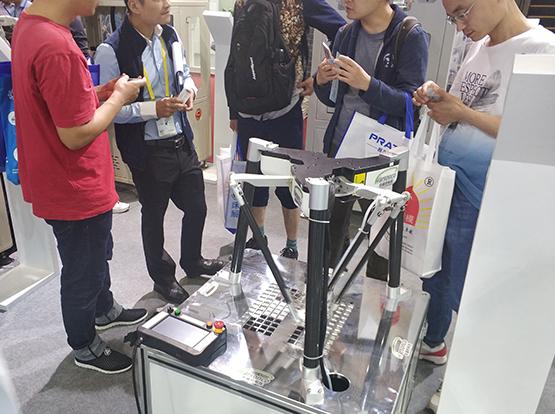 深圳市华盛控科技有限公司应邀参加2018深圳机械展览会